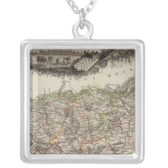 Dept Des Vosges Silver Plated Necklace