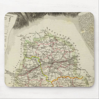 Dept D'Indre and Dormouse Mouse Pad