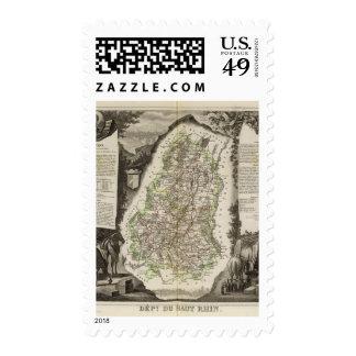 Dept. Du Haut Rhin Postage Stamp