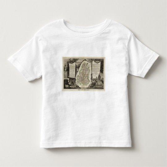 Dept. Du Haut Rhin Toddler T-shirt