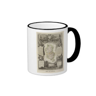 Dept Du Rhone Coffee Mug