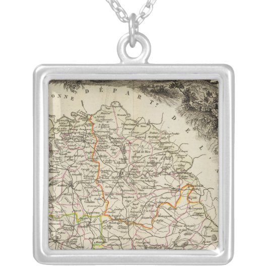 Dept Du Tarn Silver Plated Necklace