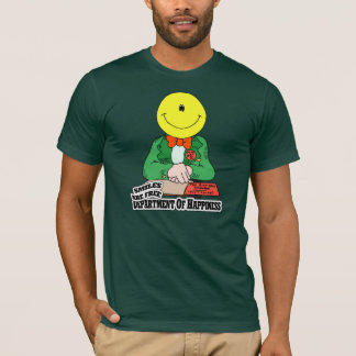 Dept. Of Happiness Smiles are free t-shirt
