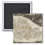 Dept. of Moselle 2 Inch Square Magnet