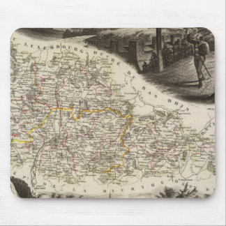 Dept. of Moselle Mouse Pad