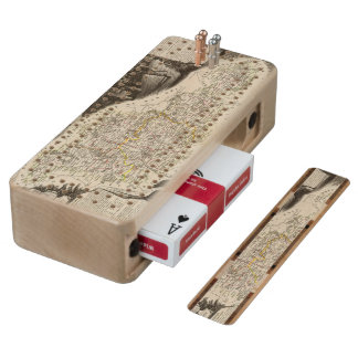 Dept. of Moselle Wood Cribbage Board