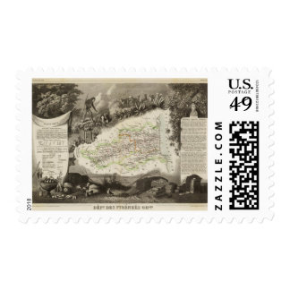 Dept of Pyrenees Orles Postage