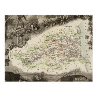 Dept of Pyrenees Orles Postcard