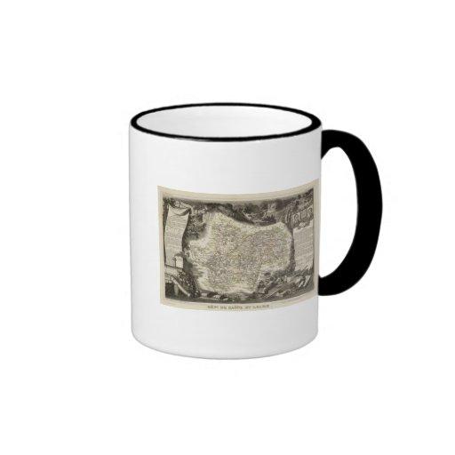 Dept of Saone et Loire Coffee Mug