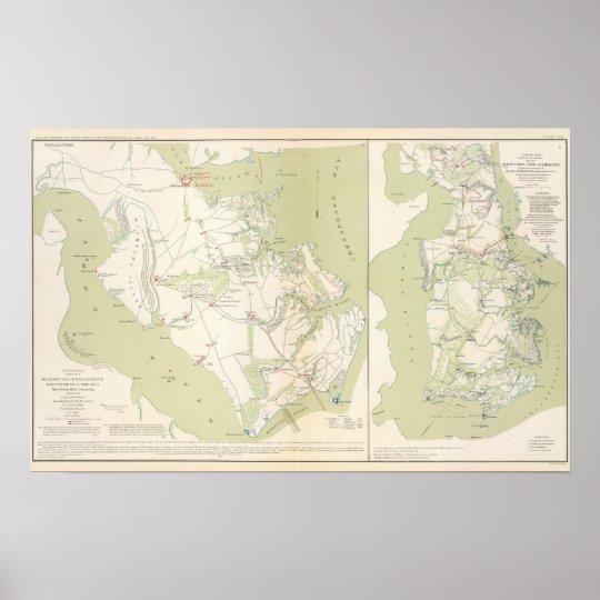 Dept of Virginia, Yorktown to Williamsburg Poster