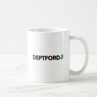Deptford, New Jersey Classic White Coffee Mug