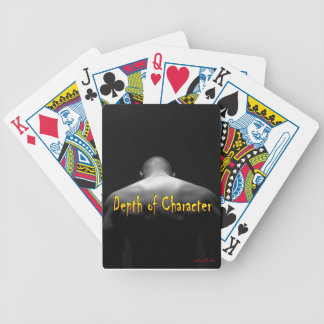 depth of character bicycle playing cards