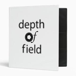 Depth of Field Binder