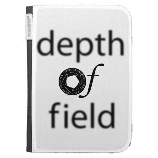 Depth of Field Kindle Case