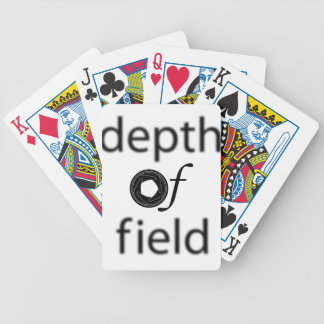 Depth of Field Playing Cards Bicycle Playing Cards