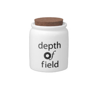 Depth of Filed Candy Jar