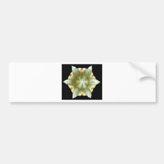 depth of the white flower bumper sticker