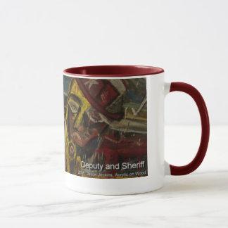 deputy and sherrif mug