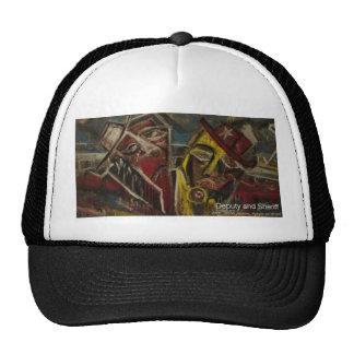 deputy and sherrif trucker hat