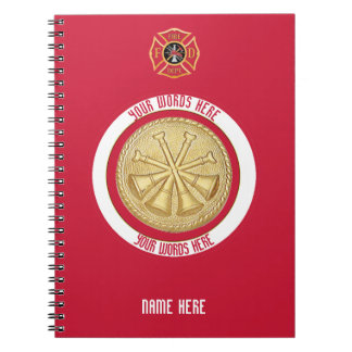 Deputy Chief 4 Bugle Custom Notebook