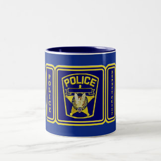 Deputy Chief Of Police Two-Tone Coffee Mug