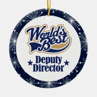 Deputy Director Gift Ornament
