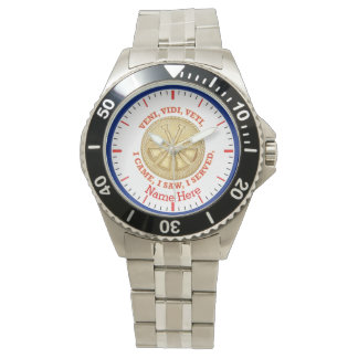 Deputy Fire Chief Medallion Wristwatches