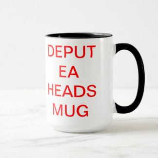 DEPUTY HEAD MUG