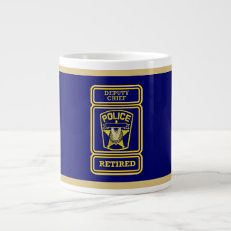Deputy Police Chief's Giant Coffee Mug