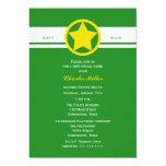 Deputy Police Graduation Invitations Forest Green Personalized Invitations