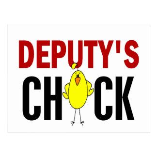 Deputy's Chick 1 Postcard