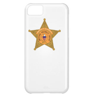 Deputy Sheriff Badge Cover For iPhone 5C