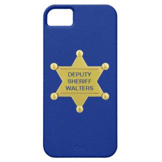 Deputy Sheriff Badge Custom iPhone 5 Case