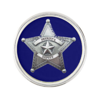 Deputy Sheriff Badge Pin