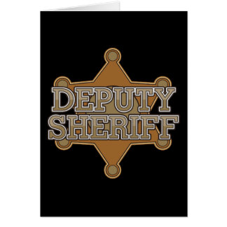 Deputy Sheriff Card