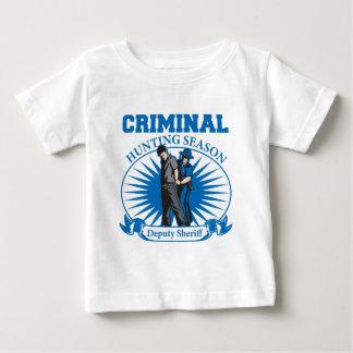 Deputy Sheriff Criminal Hunting Season Baby T-Shirt