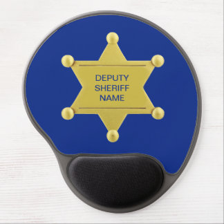 Deputy Sheriff Custon Gel Mouse Pad