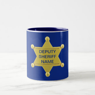 Deputy Sheriff Custon Mug