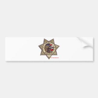 Deputy_Sheriff_emboss Bumper Sticker