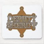 Deputy Sheriff Mouse Pads