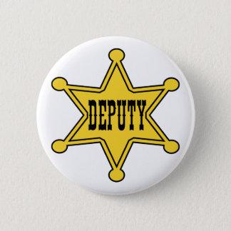 Deputy Sheriff Pin Back Badge