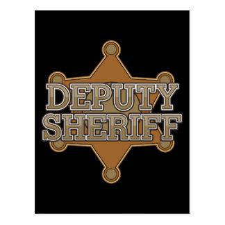 Deputy Sheriff Postcard