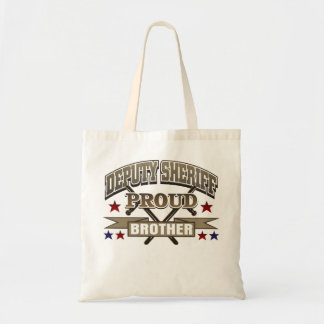 Deputy Sheriff Proud Brother Tote Bag