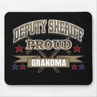 Deputy Sheriff Proud Grandma Mouse Pad