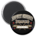 Deputy Sheriff Proud Grandma Refrigerator Magnet