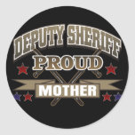 Deputy Sheriff Proud Mother Stickers