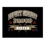 Deputy Sheriff Proud Sister Postcard