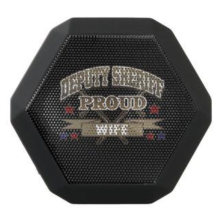 Deputy Sheriff Proud Wife Black Bluetooth Speaker