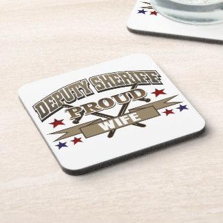 Deputy Sheriff Proud Wife Coaster