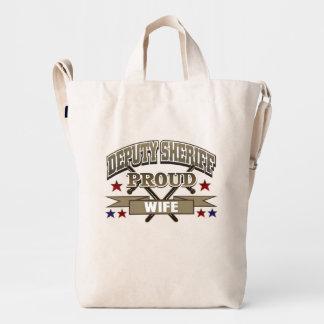 Deputy Sheriff Proud Wife Duck Bag